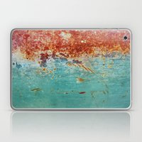 Teal Rust Laptop & iPad Skin