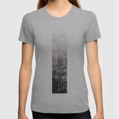 Snow in early fall(1)  Womens Fitted Tee Athletic Grey SMALL