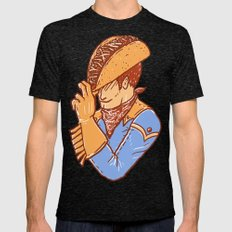 Taco Cowboy Mens Fitted Tee Tri-Black SMALL