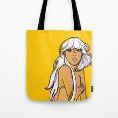 South Beach Girl Tote Bag