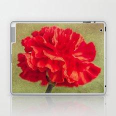 Red Carnation. Laptop & iPad Skin