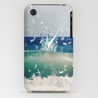 iPhone 3Gs & iPhone 3G Cases featuring GEOMETRIC OCEAN by My Dear Bambi