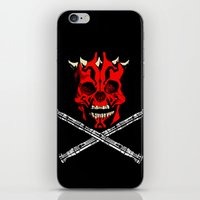 Maul's Bones iPhone & iPod Skin