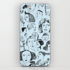 hair styles iPhone & iPod Skin