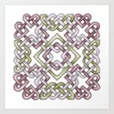 Celtic Knotwork Art Print