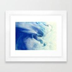 I bring the sea Framed Art Print