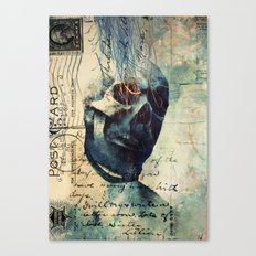 Skullman Canvas Print