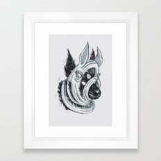The Facade Framed Art Print