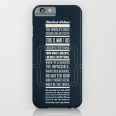 Sherlock - The Great Consulting Detective. iPhone 6s Slim Case