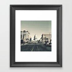 Madison, Wisconsin Framed Art Print