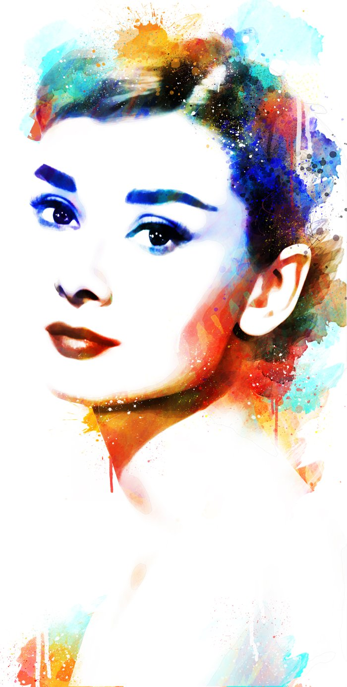 Audrey And Marilyn Pictures Paintings
