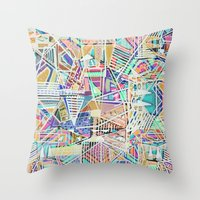 Geometric Abstract Lines… Throw Pillow