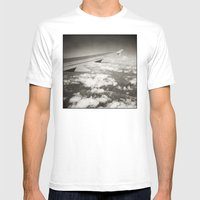 { Flying High } Mens Fitted Tee White SMALL