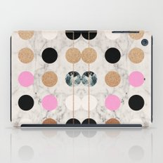 Rose Gold Dots iPad Case