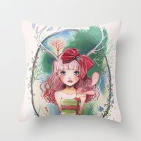 Jolie Toi Throw Pillow