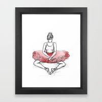 Can't Dance Framed Art Print