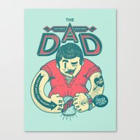 THE DAD Canvas Print