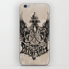 Deus Lex Mea - God is my Light iPhone & iPod Skin