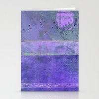 Lanscape ~ Purple Stationery Cards