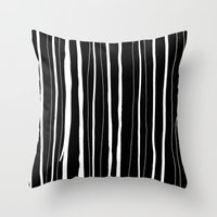 Vertical Living Throw Pillow