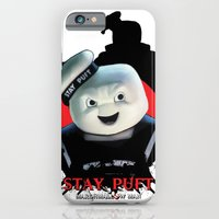 iPhone & iPod Case featuring Stay Puft: Monster Madness Series by SRB Productions