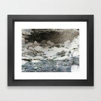 Where there's smoke Framed Art Print