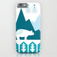 iPhone & iPod Case featuring Heart the Polar Bear by Michelle Reaney