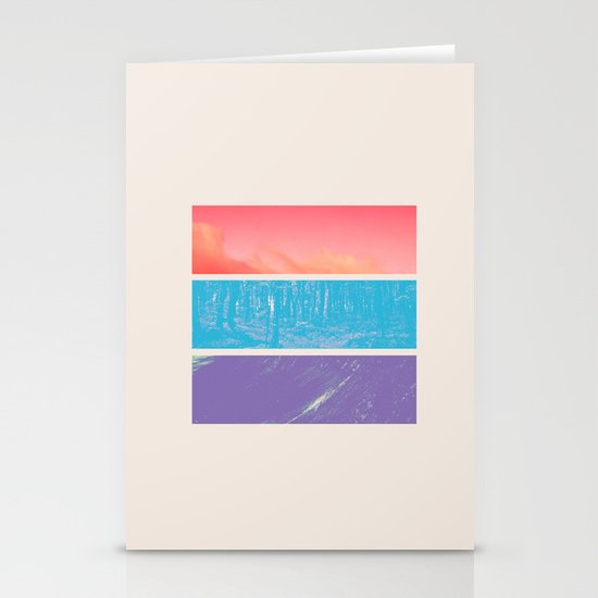 Colour Stationery Card
