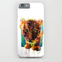 tiger iPhone & iPod Cases featuring tiger by ururuty