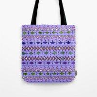 Bright Geo pattern Tote Bag