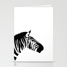 Zebra Black and White Stationery Cards