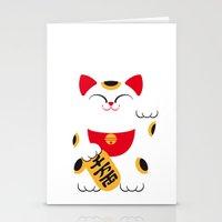 Japan Serie 4 - MANEKI NEKO Stationery Cards