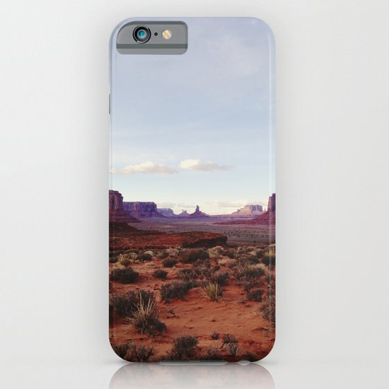 Monument Valley View iPhone & iPod Case