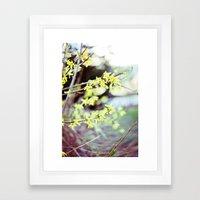 Spring Rebirth Framed Art Print