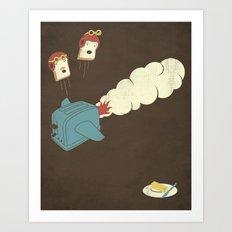 Eject! Art Print