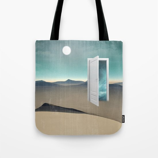 door to a void Tote Bag