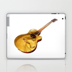 The guitar is a lady Laptop & iPad Skin