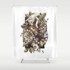Spades Shower Curtain