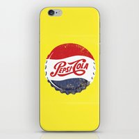 Vintage Pepsi iPhone & iPod Skin