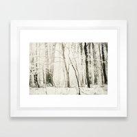 Hundred Acre Woods Framed Art Print
