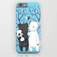 iPhone & iPod Case featuring Bear Family by Freeminds