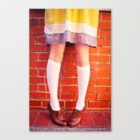 It's all about the shoes! Canvas Print