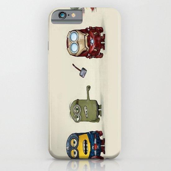 Minion Avengers iPhone & iPod Case
