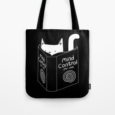 Mind Control 4 Cats Tote Bag