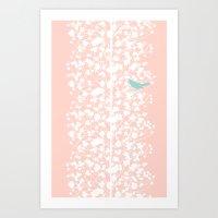 Morning Blossom Art Print