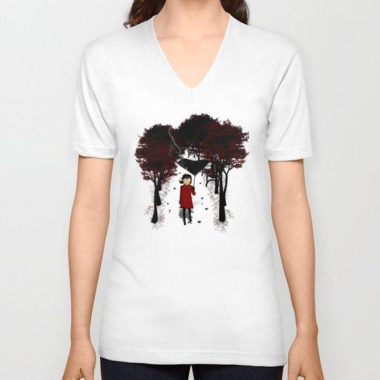 Misforautumn V-neck T-shirt