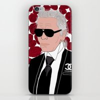 Karl Lagerfeld iPhone & iPod Skin