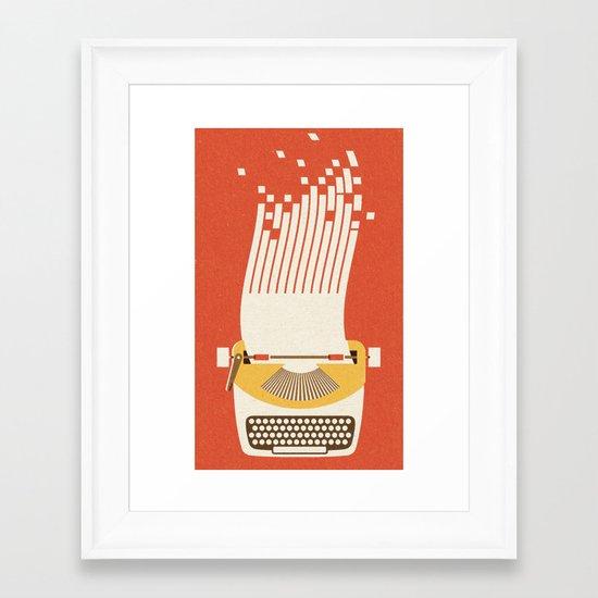 Ephemera - Part III Framed Art Print