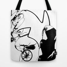 penguin posse Tote Bag