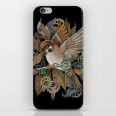 Clockwork Sparrow iPhone & iPod Skin